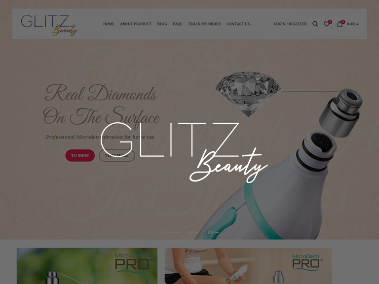 Ava-IT-Solutions-Dubai-Ecommerce-Web-Design-Portfolio-Glitz- Beauty