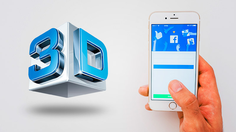 Facebook's 3D Posts Are Almost Here !! – See How They Will Be