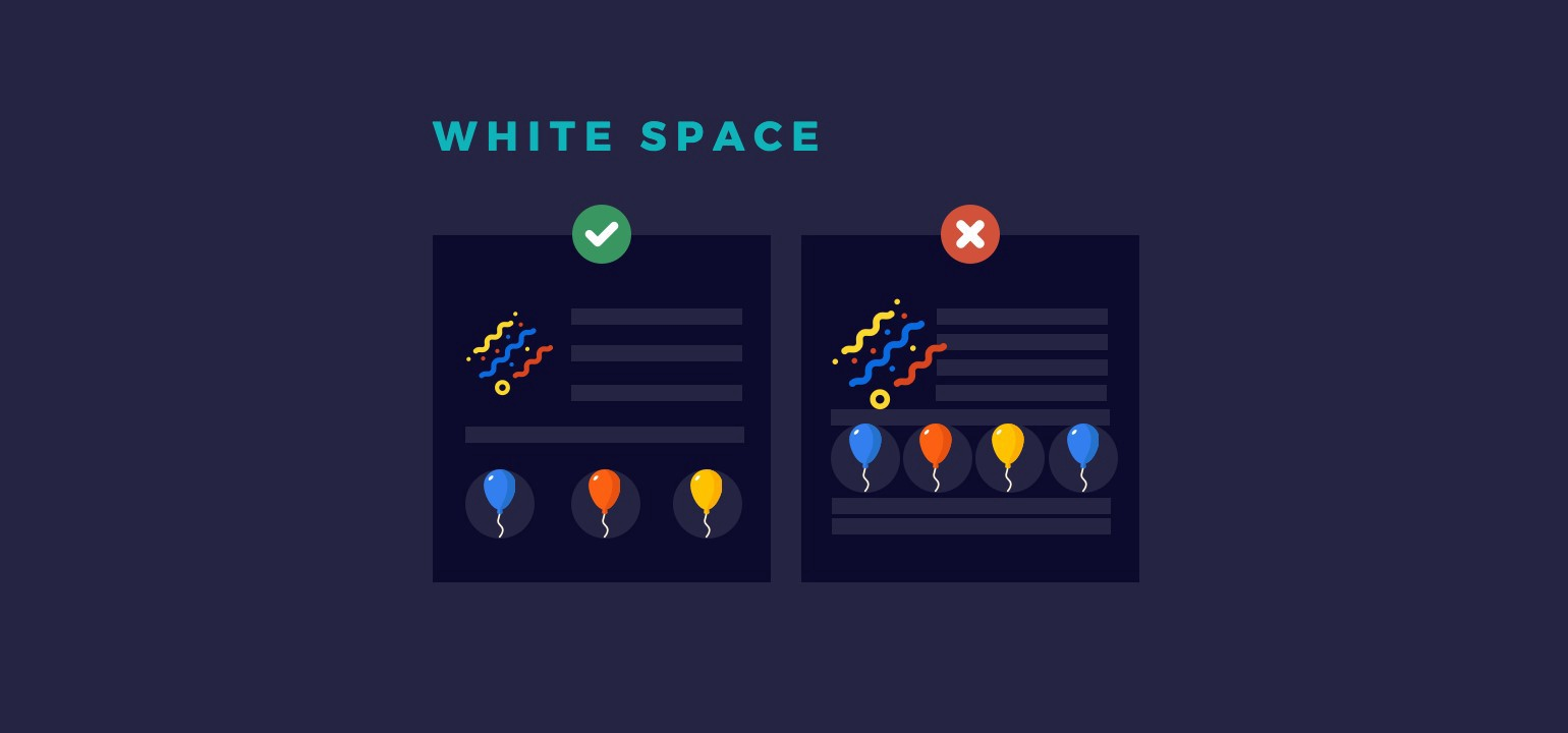 How Using White Space in Websites Improves Your Designs