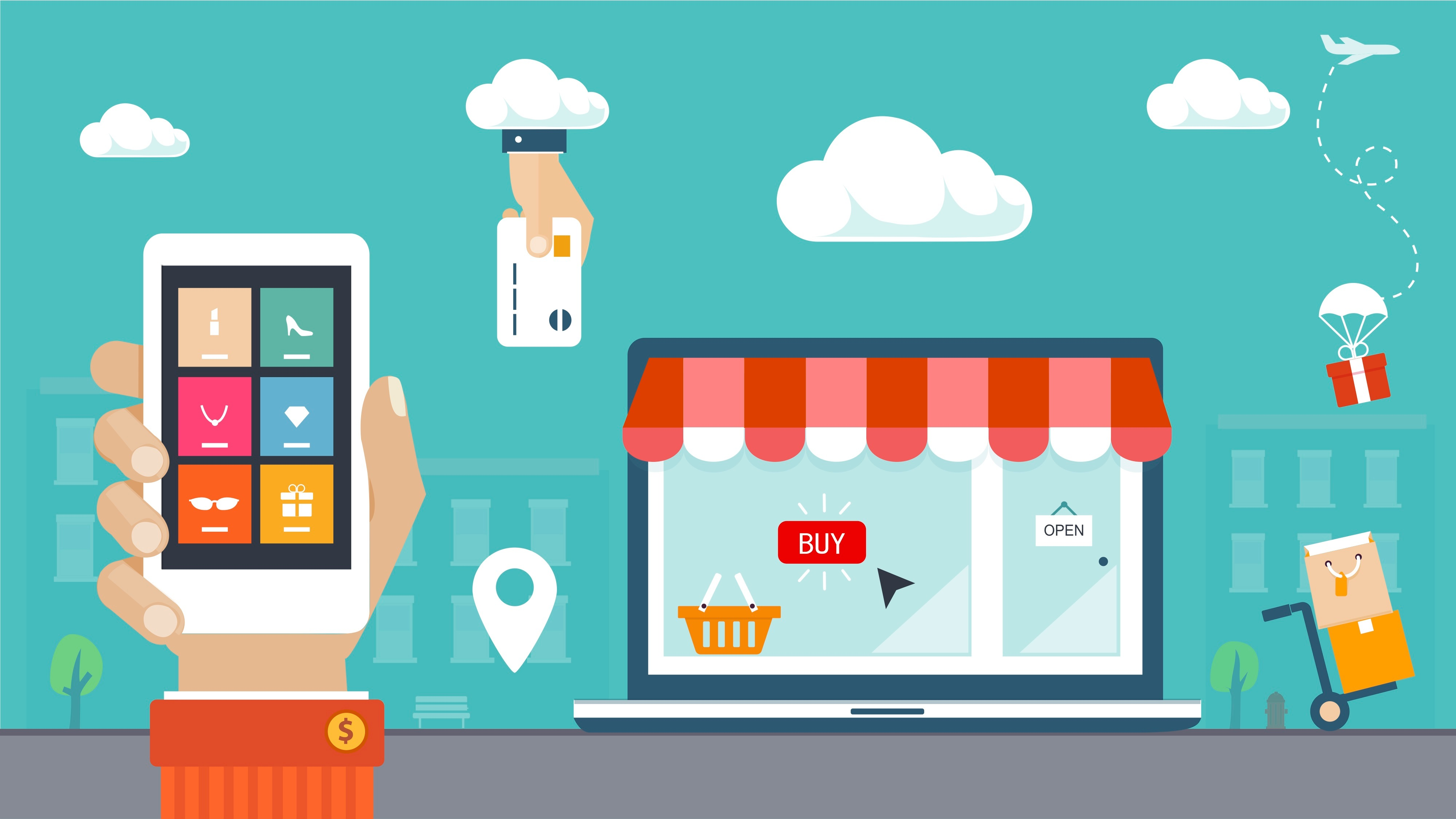 8 reasons why you should go for an e-commerce website