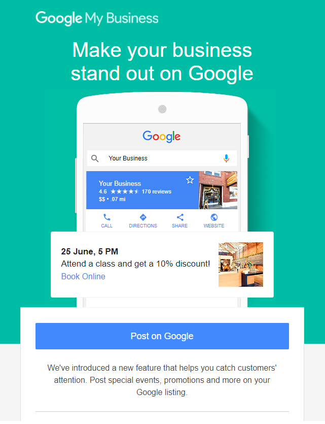 Here's How You Can Increase Sales With Google My Business Posts