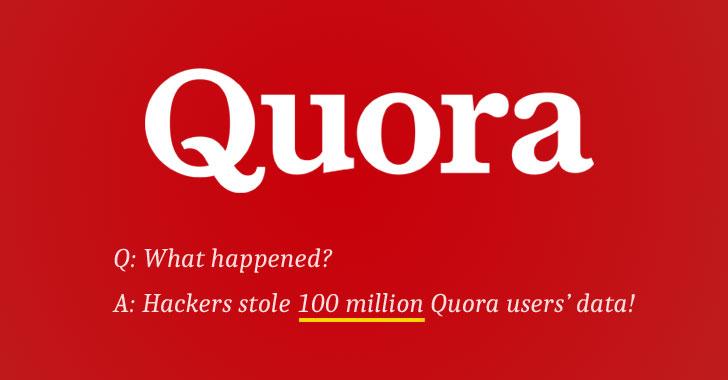 Quora Gets Hacked – 100 Million Users Data Stolen